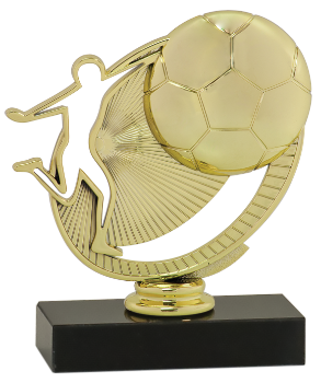 SILHOUETTE SOCCER TROPHY