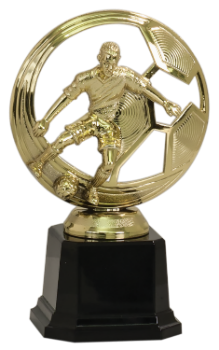 CUTOUT MALE SOCCER TROPHY