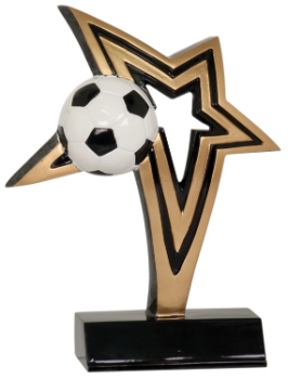 INFINITY STAR SOCCER RESIN