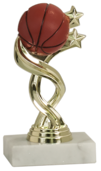 TWISTED BASKETBALL SPORT FIGURE TROPHY