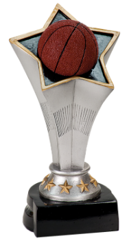 RISING STAR BASKETBALL RESIN