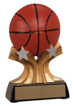 SHOOTING STAR BASKETBALL RESIN