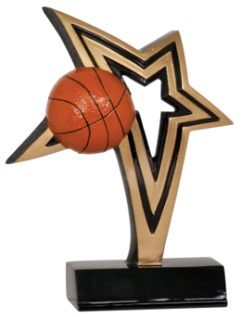 INFINITY STAR BASKETBALL RESIN AWARD