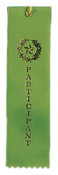 PARTICIPANT GREEN CARDED RIBBON