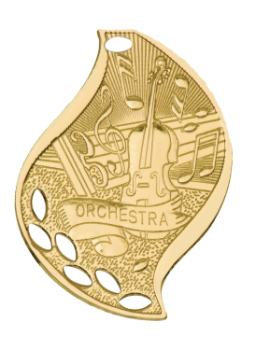 ORCHESTRA ACADEMIC FLAME MEDAL