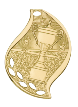 VICTORY CUP ACADEMIC FLAME MEDAL