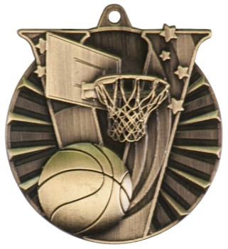 BASKETBALL VICTORY SPORT MEDAL