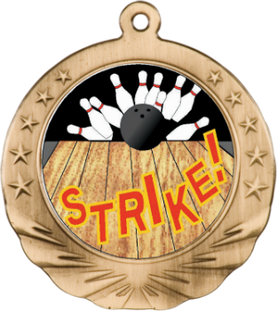 BOWLING MOTION MEDAL