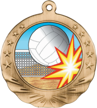 VOLLEYBALL MOTION MEDAL