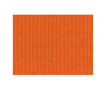SOLID ORANGE NECK RIBBON WITH SNAP CLIP