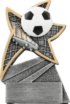 Soccer Jazz Star Resin Award