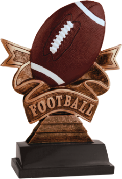 Football Ribbon Award