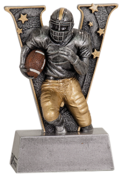 Football V Resin Award
