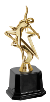 Gold Star Dance Trophy
