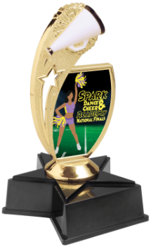 Custom Graphic Cheer Trophy