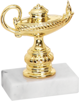 Small Lamp of Knowledge Trophy