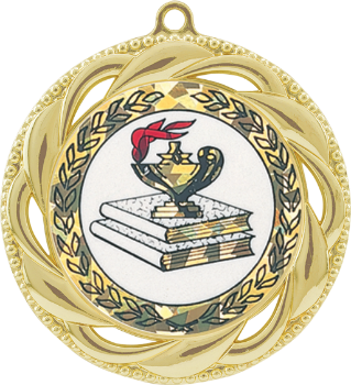 Sparkling Hologram Lamp of Knowledge Medal