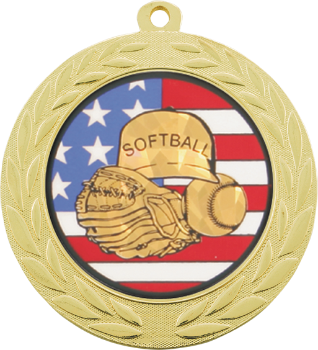 Softball Flag Medal