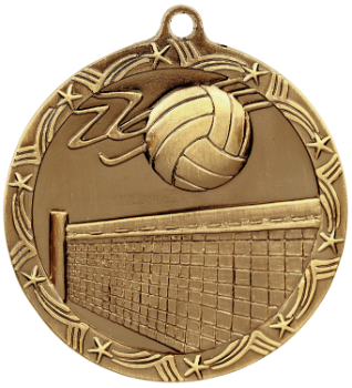 Volleyball Shooting Star Medal