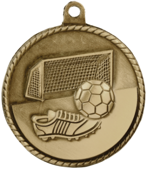 Soccer High Relief Medal