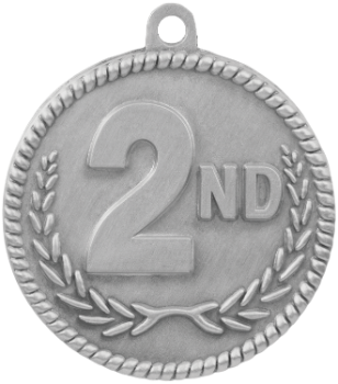 2nd Place High Relief Medal