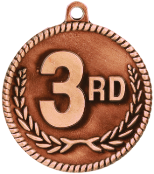 3rd Place High Relief Medal