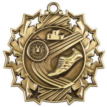 Track Ten Star Medal