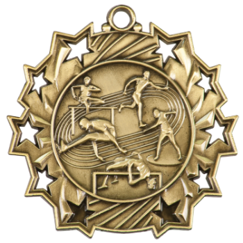 Track & Field Ten Star Medal