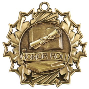 Honor Roll Ten Star Medal