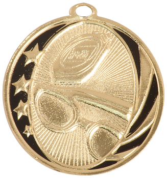 Swimming MidNite Star Medal