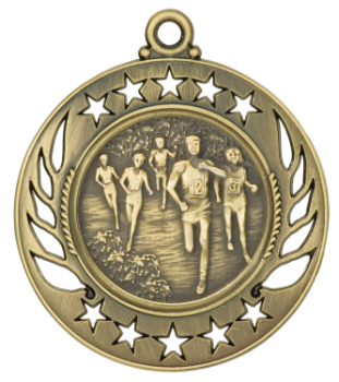 Cross Country Galaxy Medal