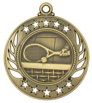 Tennis Galaxy Medal