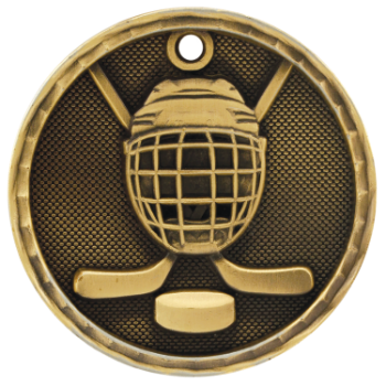 Hockey 3D Medal