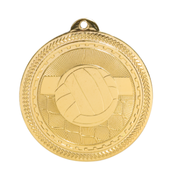 Volleyball BriteLazer Medal
