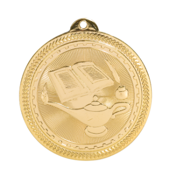 Lamp of Knowledge BriteLazer Medal