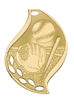 Baseball/Softball Flame Medal