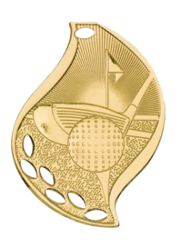 Golf Flame Medal