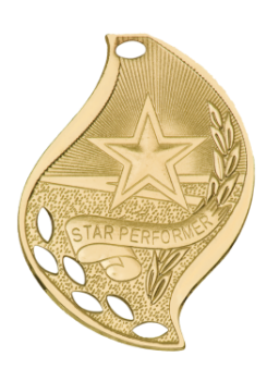 Star Performer Flame Medal