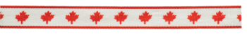 Canada Neck Ribbon with Snap Clip