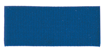 Solid Blue Neck Ribbon with Snap Clip