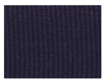 Solid Navy Blue Neck Ribbon with Snap Clip