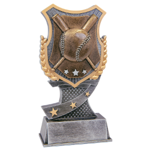 Baseball/Softball 6 Shield Award