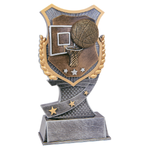 Basketball 7 Shield Award