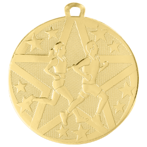 Cross Country Superstar Medal