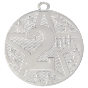 2nd Place Silver Superstar Medal