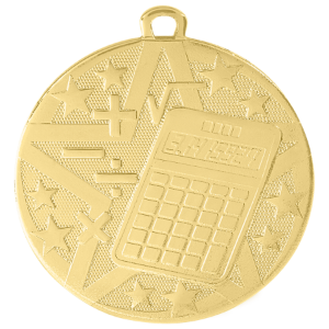Math Superstar Medal