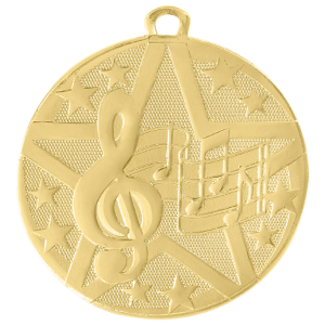 Music Superstar Medal