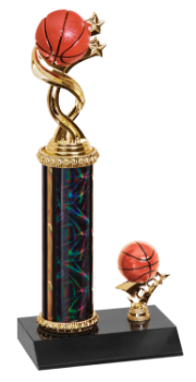 Twisted Basketball Trophy