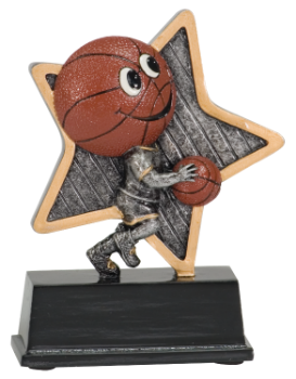 Little Pal Basketball Resin