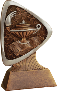 Lamp of Knowledge Triad Resin Award